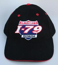 JOE ROMEO'S I-79 MAZDA Baseball Cap Hat Mt. Morris Pennsylvania Adjustable Black