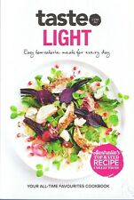 Taste LIGHT Mini-Cookbook A5 Size 56 Pages FREE POST