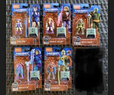 Mega Construx Masters of the Universe Adam Moss Evil-lyn Stratos Skeleton Set 5