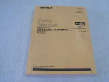 CATERPILLAR Parts Manual 320C &320C L Excavators