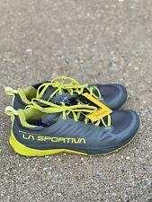 La Sportiva Kaptiva GTX Men's Size 10.5 / 43.5 Carbon/citrus Mountain Running
