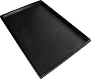 Replacement Bottom Pan for Dog Crate 35 L x 22 W Inches Leak Proof Plastic Blk