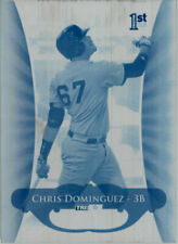 2010 TriStar Pursuit CHRIS DOMINGUEZ #31 Rookie Press Plate 1/1