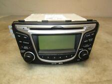 12-14 2012-2014 Hyundai Accent Radio CD Player w/ Display Screen OEM