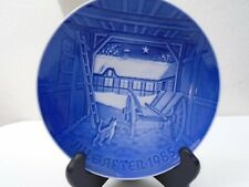 1985 Bing and Grondahl B & G Christmas Plate Christmas Eve Mint Condition