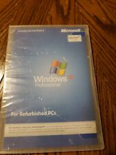 Windows XP Professional Service Pack 2 for Refurbished PCs pro CD No Product Key