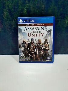 Assassin's Creed Unity Limited Edition PS4 PlayStation 4 Game + Unused Code