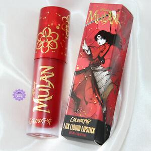 ColourPop x Disney Mulan Strong Chi Lux Liquid Lipstick *100% GENUINE* Brand New