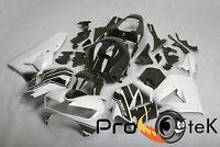 For 2013-2018 Honda CBR600RR Black White ABS Injection Plastic Fairing Bodyworks