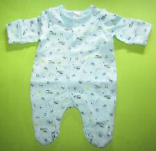 6a4010b0c0 Baby Jungen Schlafanzug Overall Bio-Baumwolle mintgrün GR.50 NEU mit Etikett