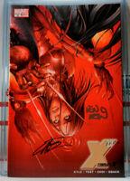X-23 TARGET X #3 2X-SIGNED! LEN WEIN + MIKE CHOI marvel WOLVERINE Logan x-men
