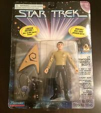 STAR TREK Limited Edition SCOTTY Spencer Gifts VHTF 1st Episode NEW ON CARD Rare