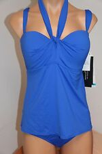 NWT Coco Reef Swimsuit Bikini Tankini 2pc set Sz XL 36/38DD Ocean  Five Way