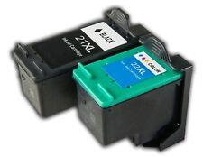 2 ink Compatible with HP 21XL 22xl Deskjet F2200 F2280 F2180 F380 D2460 F2100