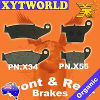 Front Rear Brake Pads Honda CRF 450 R X 2002-2010 2011 2012 2013 2014 2015 2016