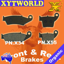 Front Rear Brake Pads Honda CRF 450 R X 2002-2010 2011 2012 2013 2014 2015 2016