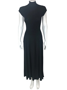 Isabel Toledo, Women's Matte Jersey Maxi Dress, Black, Size 2