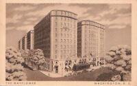 Postcard The Mayflower Hotel Washington D.C.