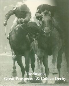 """1980 - The Savage - GREAT PROSPECTOR & GOLDEN DERBY - Close-Up - 8"""" x 10"""""""