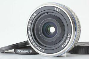 【N MINT】Olympus M.Zuiko Digital 17mm f/2.8 Lens Single focus Lens ✈FedEx From JP