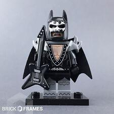 Lego Glam Metal Batman Minifigure - BRAND NEW - The Batman Movie Series