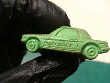 vintage MATCHBOX LESNEY Eraser: gree MERCEDES 350 SL