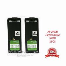 2 x 2100mAh NTN7143 NTN7144 Battery for MOTOROLA HT1000 MT2000 MTS2000