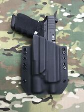 Black Kydex Holster for Glock 19 23 32 Threaded Barrel Surefire X300 Vampire