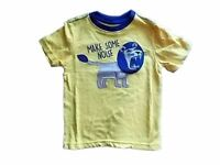 NWT Boy's Gymboree Island Hopper King lion yellow shirt ~ 18-24 months