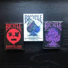 More details for the 2021 rare bicycle karnival playing cards triple pack