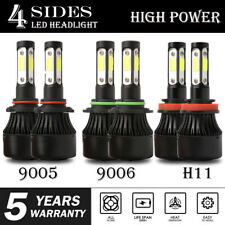 4-Sides Combo H11 9006 9005 LED Headlight Bulb Fog light for Toyota Corolla RAV4
