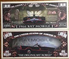 1966 Batmobile Million Dollar Bill