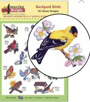 Amazing Design Backyard Birds 20 Classic Designs ADC-188 Brand New Sealed