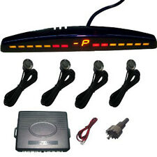 Inalámbrico De Sensores de aparcamiento de coche marcha atrás Kit de 4 Sensores Pantalla LED AC20