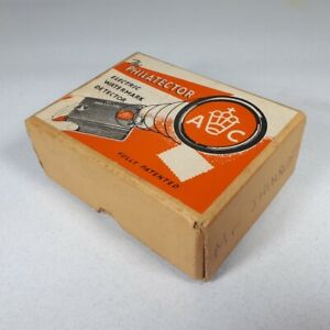 Vintage 'Philatector' Electric Watermark Detector. 1940s. Stamp Collecting.