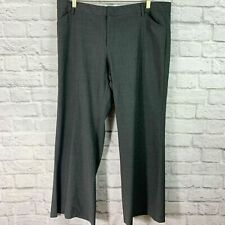 Gap Perfect Trouser Pants Charcoal Gray Stretch Bootcut Flare Women's Size 16P