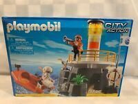 PLAYMOBIL 5626 Lighthouse with Rescue Raft Playset NEW Sealed