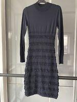 Alaia - Navy Dress, Size 38