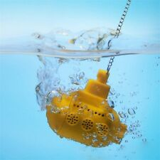 Submarine Tea Strainer Filter Loose Leaf Herbal Spice Infuser Silicone Spice DQ