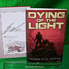 Dying Of The Light by George RR Martin Subterranean Press SIGNED LIMITED EDITION