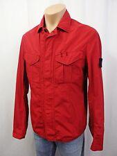 STONE ISLAND leichte Designer Jacke Gr.L 50-52 Jacket Rot