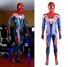 New Velocity Spider-Man Jumpsuit Spiderman Cosplay Costume Halloween Adult/Kids