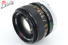 [EXC] Canon FD 50mm f/1.4 S.S.C. MF Prime Lens