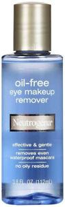 Neutrogena Oil-Free Liquid Eye Makeup Remover, Residue-Free, Non-Greasy, Gentle