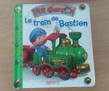 Livre enfant LE TRAIN DE BASTIEN édition Fleurus