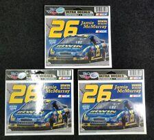 3 - Jamie McMurray #26 Bumper Sticker Decals  NASCAR Race Racing