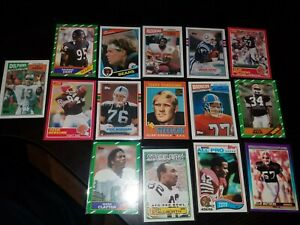 LOT  1980s FOTTBALL PLAYERS,DAN MARINO,JIM Mcmahon,and more