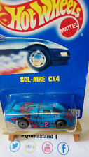 Hot Wheels Sol-Aire CX4 Collector 169 (CP01)