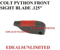 "COLT PYTHON Front Sight Blade with RED INSERT .125 "" WIDE NOS COLT PYTHON"
