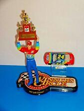 "Winner's Circle 1:64 Car & 4.5"" Figure Display Jeff Gordon NASCAR Champion 1997"